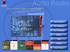 interfaz Audio Books